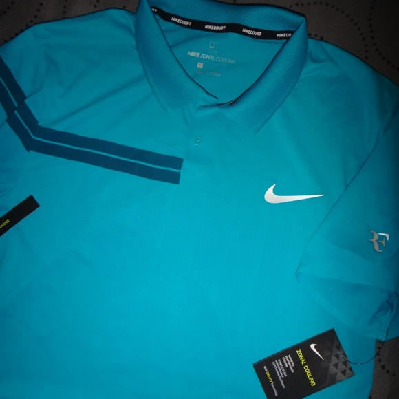 Nike Other - NIKE ROGER FEDERER TENNIS ZONAL COOLING COURT POLO